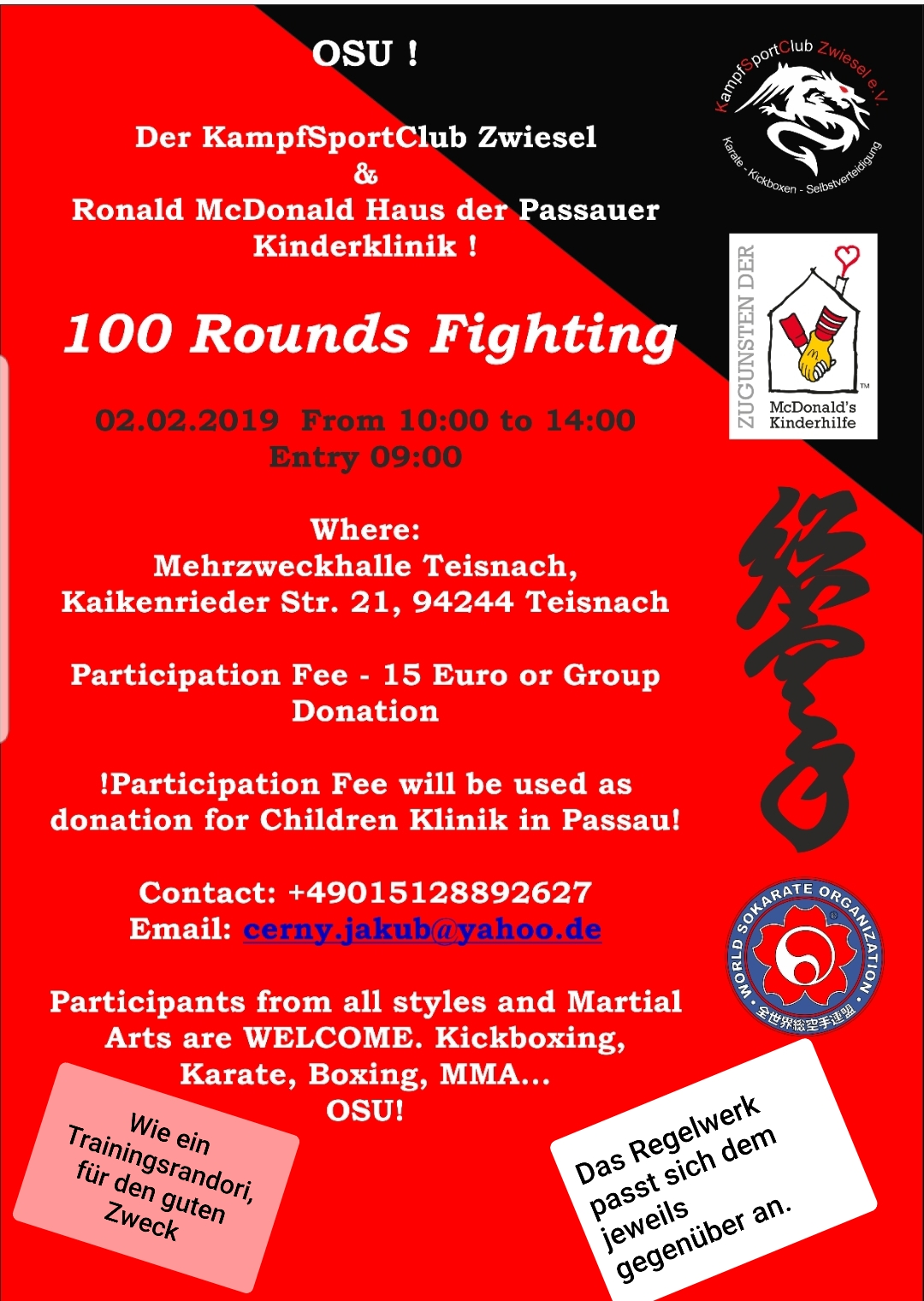 100 Rounds Fighting